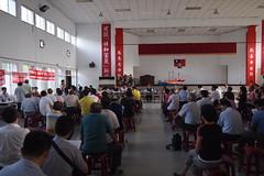 茄萣1-4道路開發吸引大批民眾參與環評大會會前會