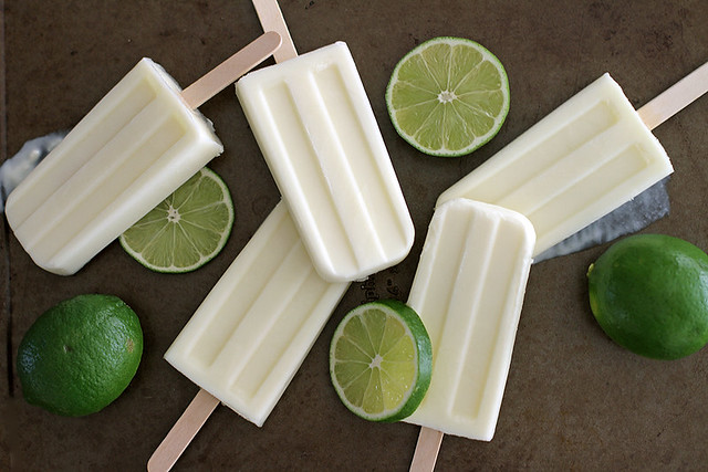 Lime Creamsicles | girlversusdough.com