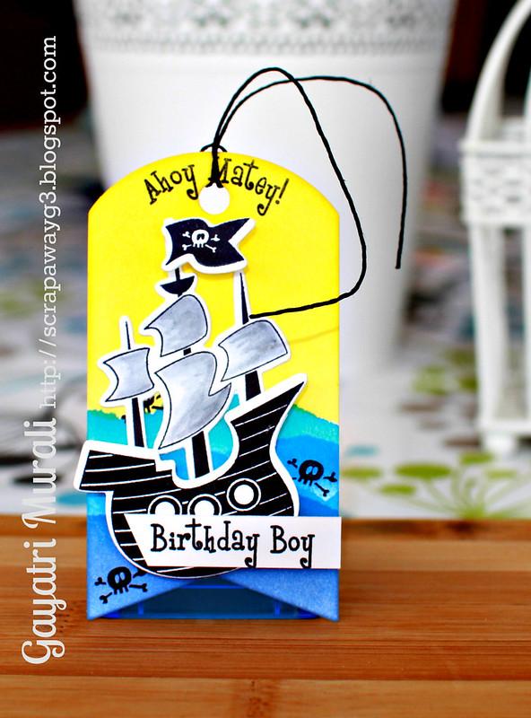 Ahoy Matey tag!