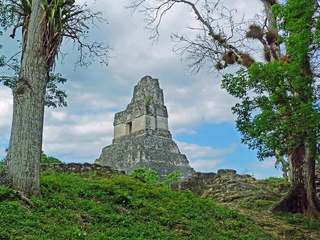 Templo II de Tikal (Guatemala)