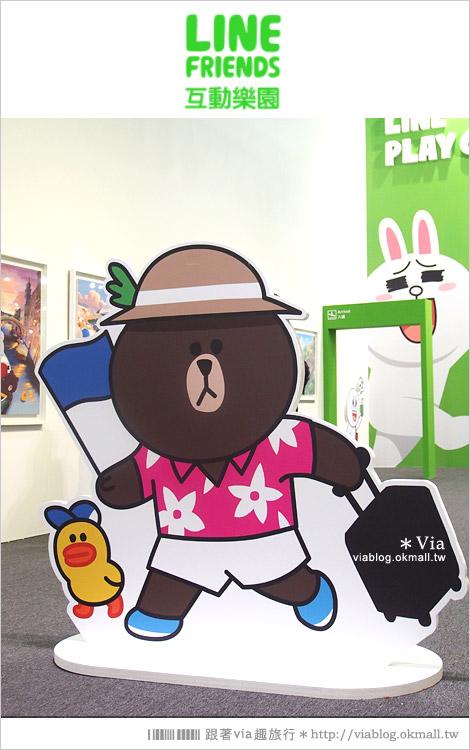 【台中line展2014】LINE台中展開幕囉!趕快來去LINE FRIENDS互動樂園玩耍去!(圖爆多)34