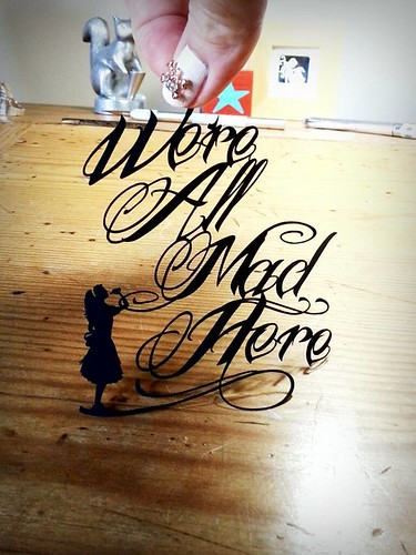 paper-cutting-we're-all-mad-here