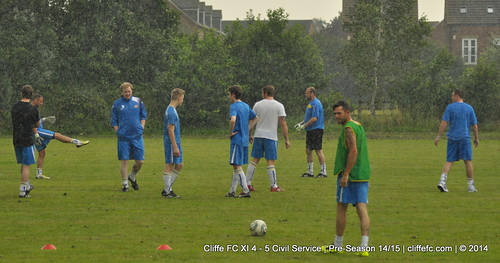 Cliffe FC XI 4 - 5 Civil Service 19Jul14