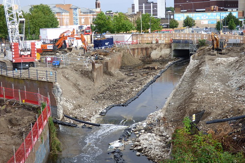 Lewisham Gateway progress, 19 July 2014
