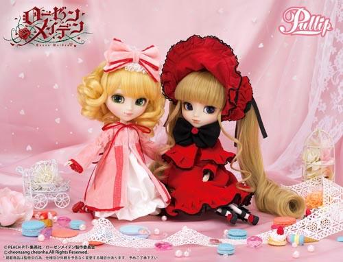 Pullip Hina Ichigo & Shinku