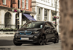 The all-electric BMW i3 !