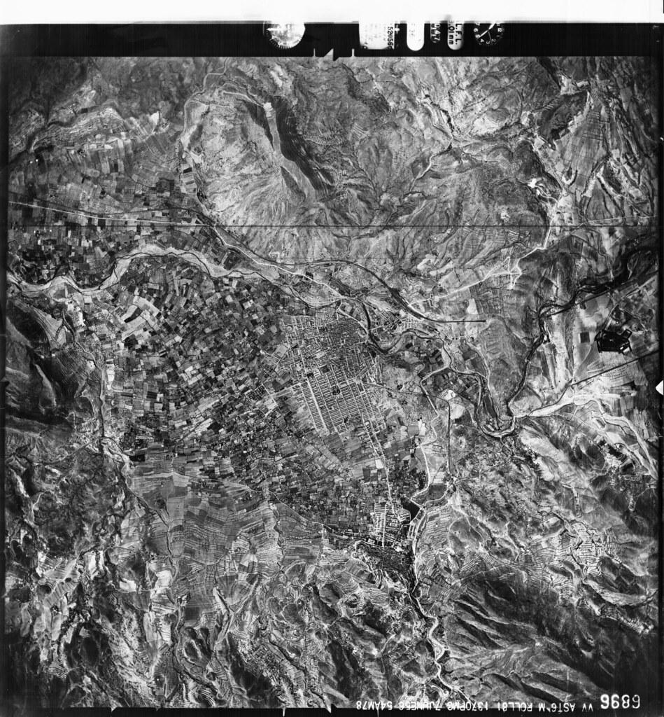 Vista aerea antigua Petrer
