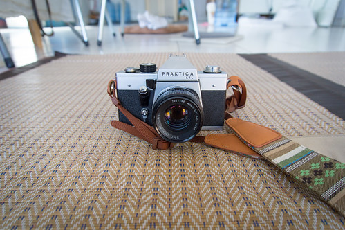 Praktica LTL with SMC Takumar 55mm f1.8 3