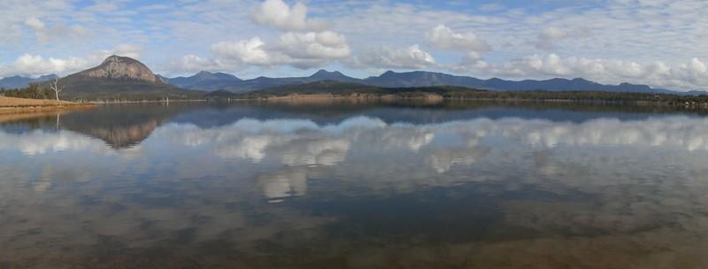 Lake Moogerah Scenic Rim Panorama