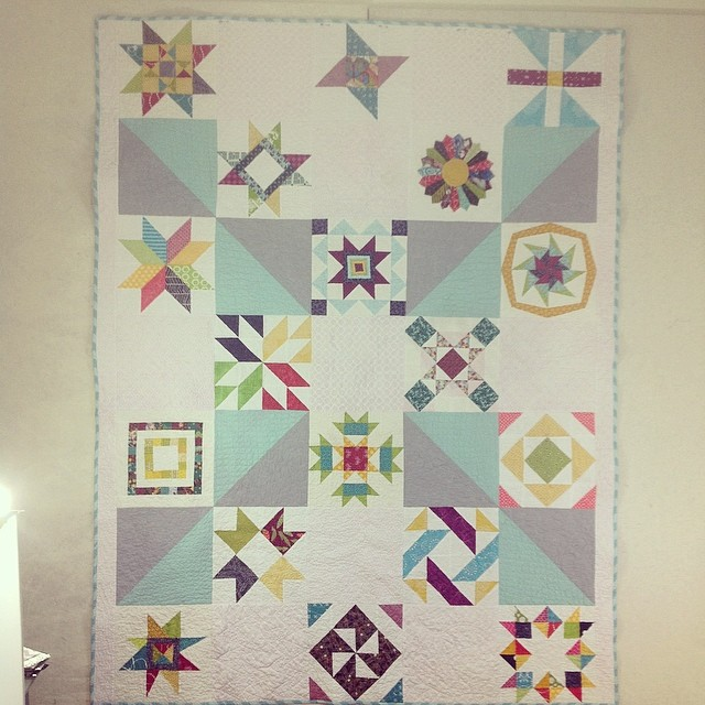 #havendgs #dogoodstitches quilt finished