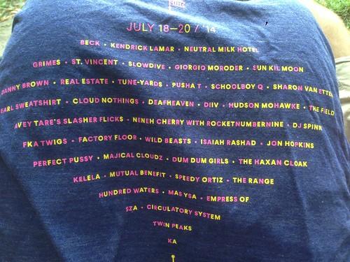 Pitchfork Music Festival 2014