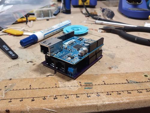 Neopixel Control Board