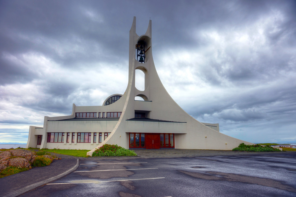 The Modern Church of Stykkisholmur