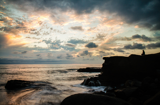 Sunset Cliffs at Sunset 71914 © Michael Klayman 2014- 02