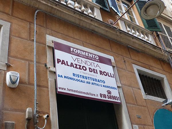 vendita palazzo dei rolli