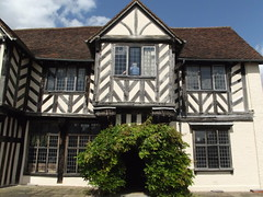 Blakesley Hall Gardens - the farmhouse - entrance