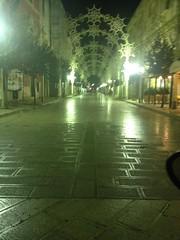 centro deserto alle ore 22