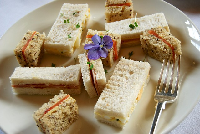 Balfour Castle Afternoon Tea Sandwiches