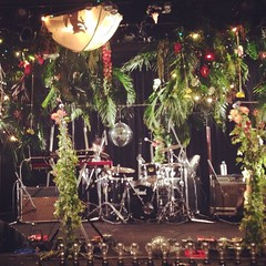 Jungle camp stage for the band happy by @jiroendo and his team