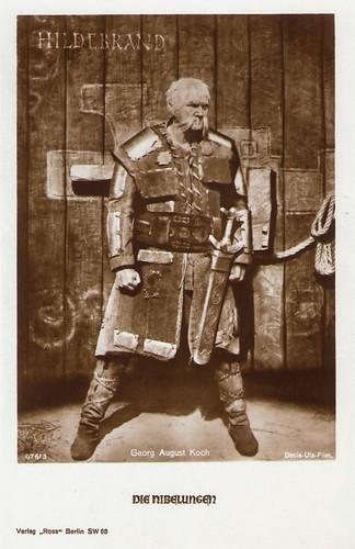 Georg August Koch in Die Nibelungen
