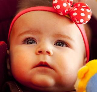 Niki shakerin نیکی شاکرین در چهار ماهگی