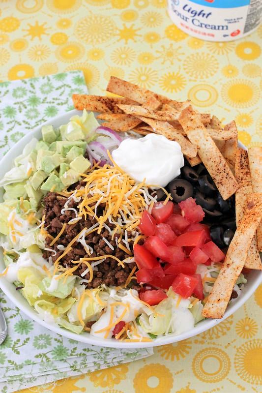 Taco Dinner Salad