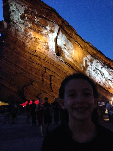 Reagan @ Red Rocks