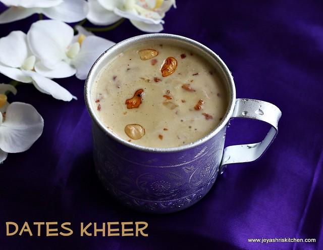 Dates-Kheer