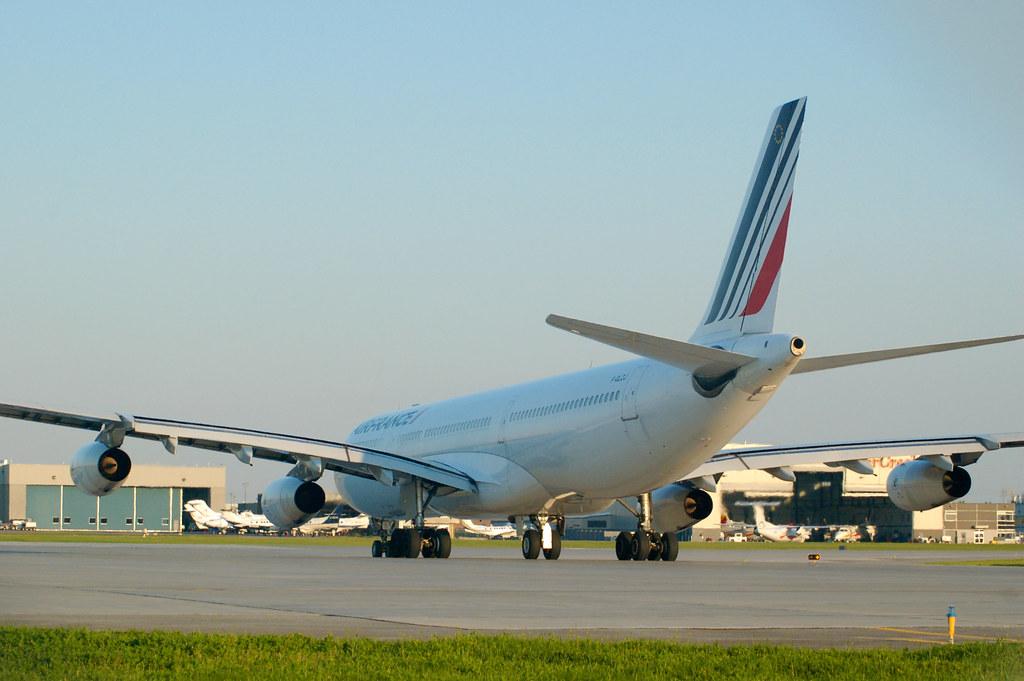 F-GLZJ - A343 - Air France