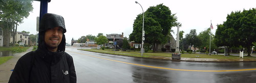 Niagara USA con las calles vacías