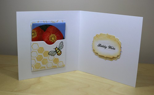 Poppy Seed Card inside