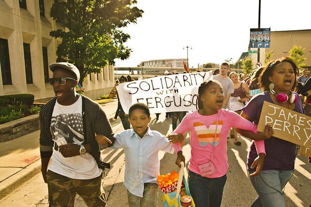 Family Marching for Justice