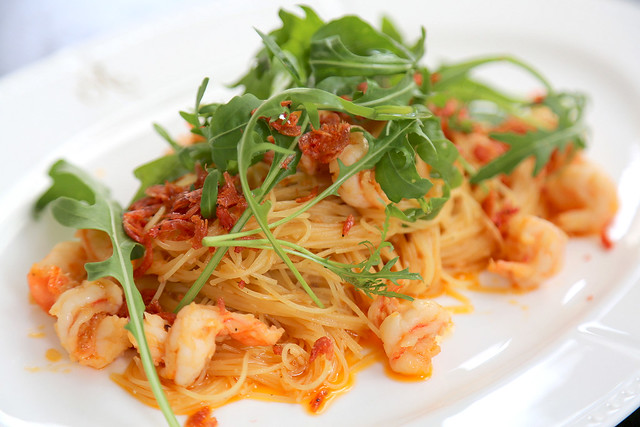 Shrimp Capellini