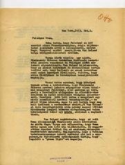 080. Bakách-Bessenyey György levele Habsburg Ottónak egy újabb, Mindszenty József bíboros érdekében indítandó nemzetközi akcióról
