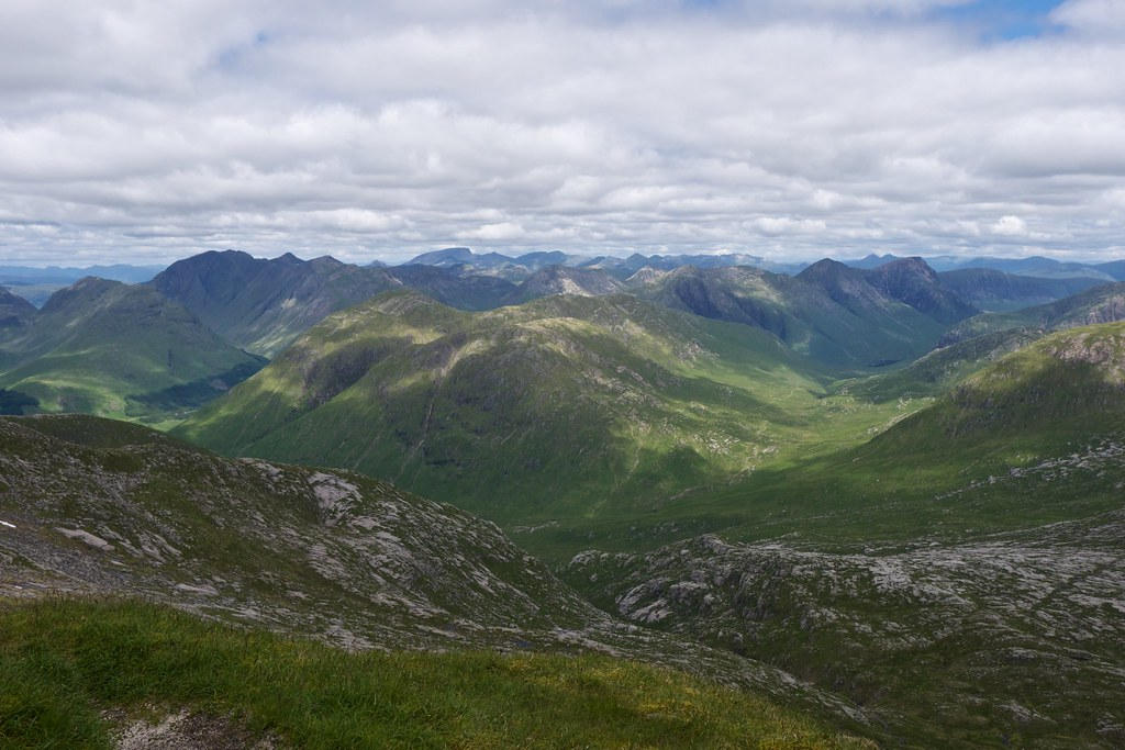 Glencoe and Etive Hills
