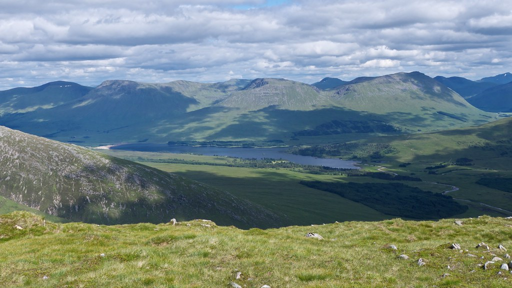 Loch Tulla and the Bridge of Orchy Munros