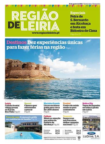Região de Leiria edição 4040 de 21 agosto 2014