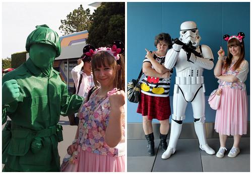 Disney Characters Seven