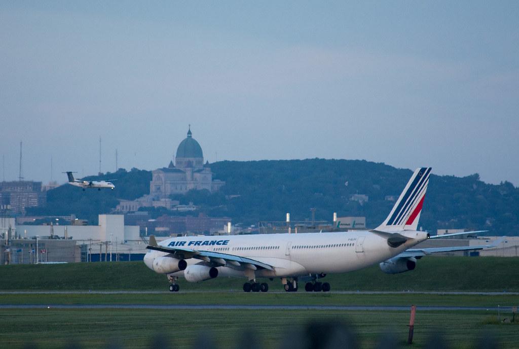 F-GLZU - A343 - Air France