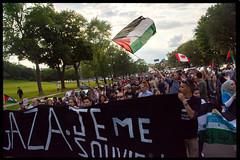 Gaza demo Parc