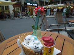 Pre-'Umsonst'-Kino-Eis @ Dulce Chocolate & Ice Cream Hackescher Markt