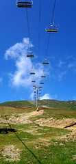 cable car, sky,