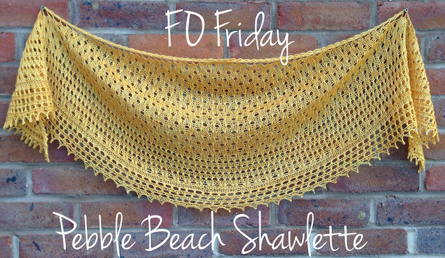 FO Friday - Pebble Beach Shawlette