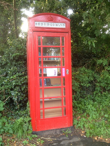 Washbrook Telephone Box Book Exchange