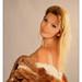 Hot Blonde In Fur