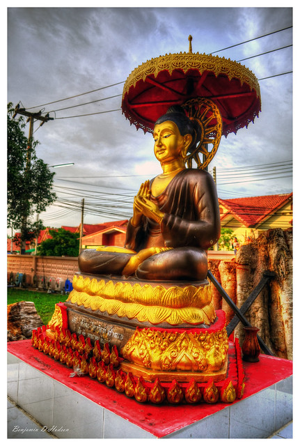 The Sitting Buddha