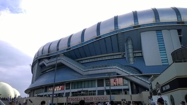 大阪京瓷巨蛋外觀