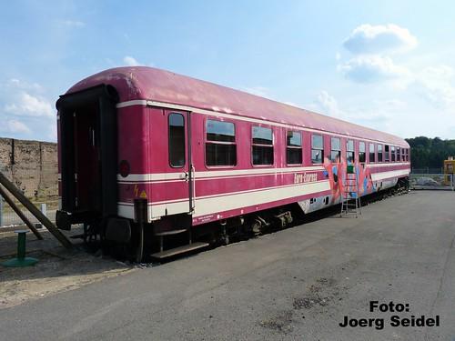 DE-37339 Ascherode Liegewagen Bcm 568052-40152-4 ex US Army im August 2014
