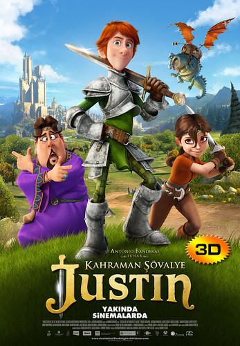 Kahraman Şövalye Justin - Justin and the Knights of Valour (2014)