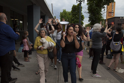 Portland protests for Ferguson 30